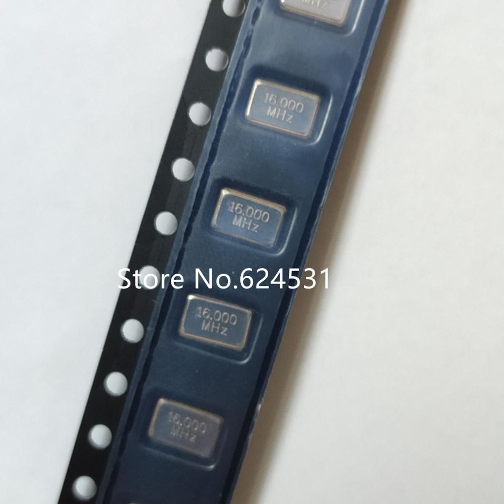 10pcs Passive SMD Crystal Oscillator 5032 5*3.2 16MHZ 16M 16.000MHZ 4p Crystal Resonator