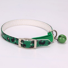 PU Leather Collars with Bell for Cats