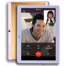 10.1 pulgadas de la Marca Original 4G de Teléfono de Llamada Tablet PC Quad Core pulgadas HD de Pantalla Doble Tarjeta SIM 32 GB MTK Android OS WIFI GPS Bluetooth