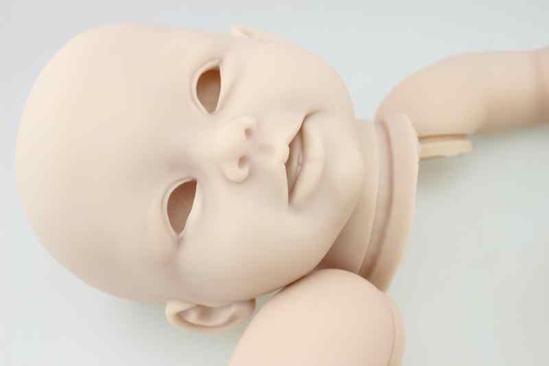 Мягкие виниловые неокрашенные обновленные наборы для кукол для художника ручной работы пресс-форма, принадлежности DIY для 20 ''силиконовые детские куклы комплект