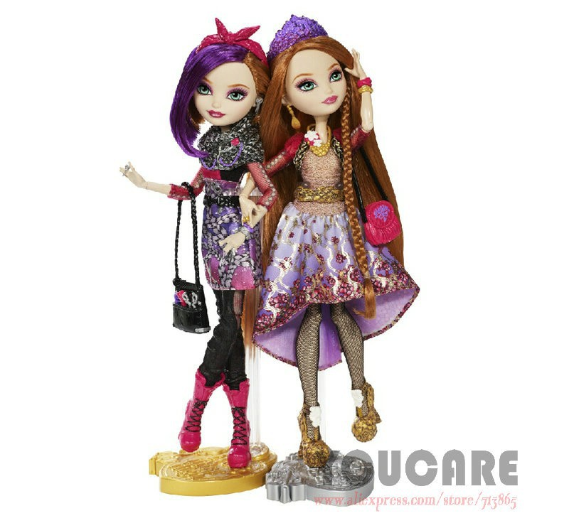 Holly O' Hair and Poppy O' Hair by Ever After High | The Toy Box ... | 743x800