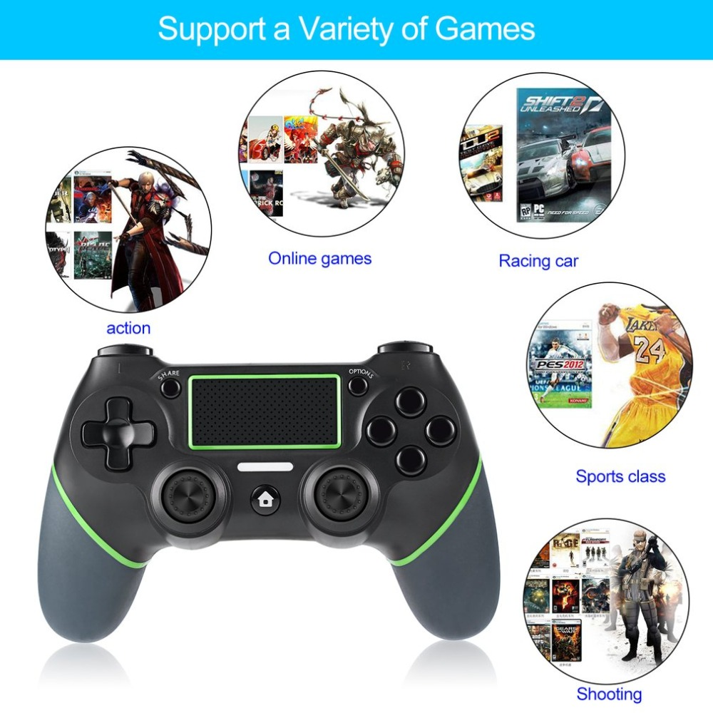 NEW Gamepad Joystick For Playstation 4 Console PC Laptop Computer Play Gaming Controller Handle for PS4 Controller PK S3 T3