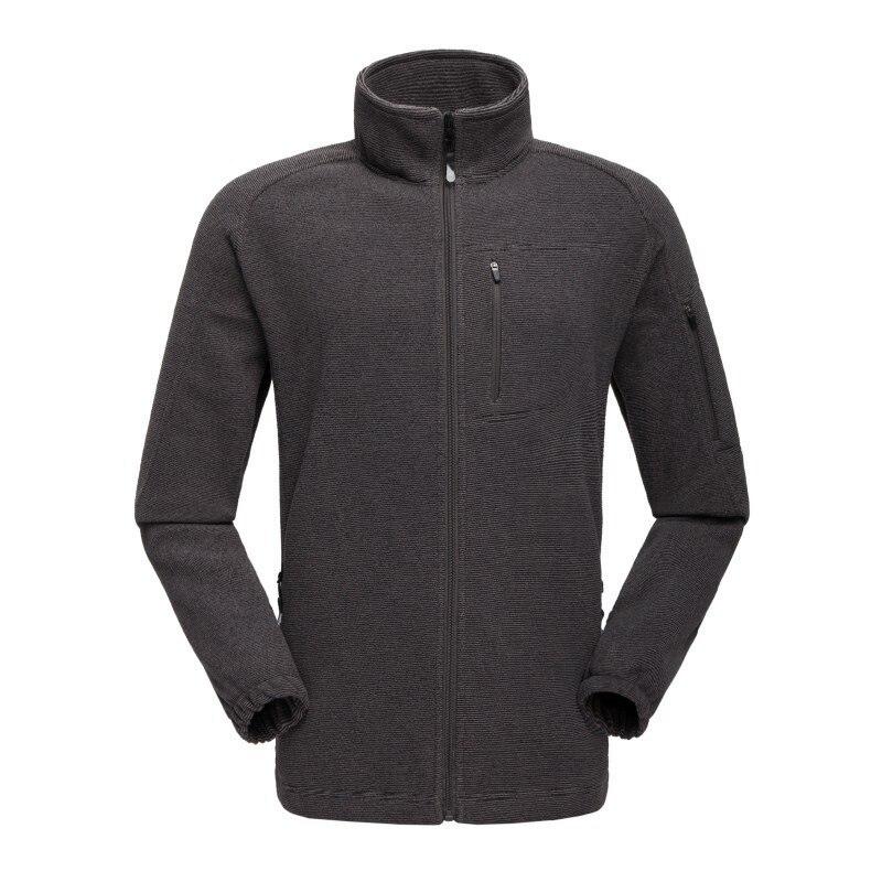 Hiking Jacket Coat Thermal Fleece Outdoor Winter Anti-Sweat Windproof Men Skiing