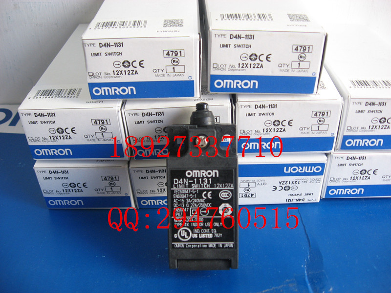 [ZOB] 100% new original OMRON Omron Limit Switch D4N-1131  --5PCS/LOT [zob] supply of new original omron omron limit switches d4n 212g 5pcs lot