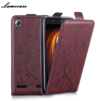 Flip Leather Case For Sony Xperia M4 Aqua Dual Coral E2312 E2303 E2333 Phone Cover For