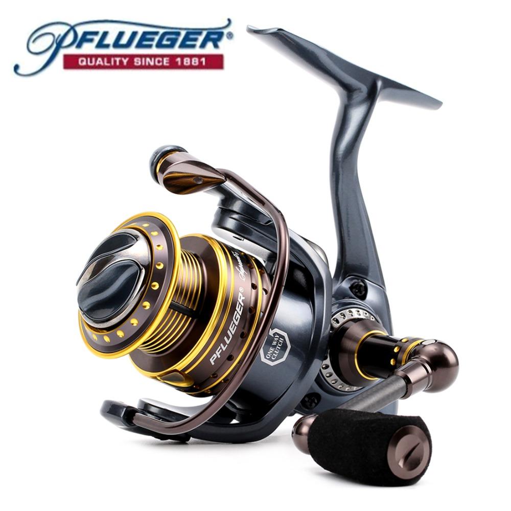 Prix pour Pflueger Marque 9225XT/9230XT/9235XT Suprême XT Spinning Reel Fishing 10BB D'eau Douce Carpe Engins De Pêche pour la Pêche au Feeder