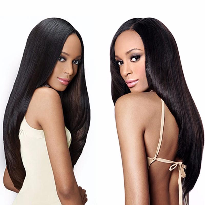 Sleek Straight Peruvian Virgin Hair 3 Bundles Peruvian Straight Hair Peruvian Straight Virgin Hair Virgin Peruvian Hair Bundles (1)
