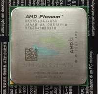 Free Shipping For Phenom X4 9850 Quad Core DeskTop 2 5GHz CPU HD985ZXAJ4BGH Socket AM2 940pin
