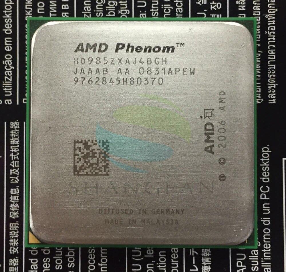 AMD Phenom X4 9850 Quad-Core De Bureau 2.5 GHz CPU HD985ZXAJ4BGH Socket AM2 +/940pin