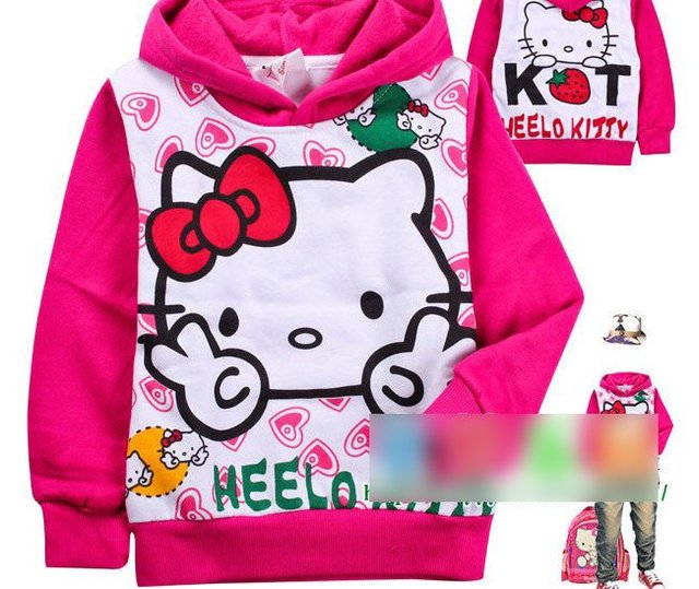 2012 Autumn Winter Of Children's Long Sleeve T-shirt Cartoon Girl Catch Hair Thickening TongWei Garment Children Caps Unlined Up
