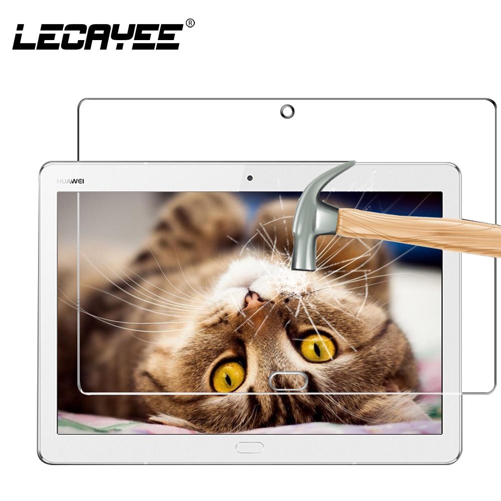 Lecayee Tablets cubierta para Huawei Mediapad m3 Lite 10 10.1 pulgadas vidrio templado para Huawei Mediapad m3 Lite pantalla de protección vidrio