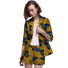 hot deal buy african clothes women print suits blazers with shorts ankara fashion short suits customized wedding female formal outfits