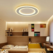 Surface mounted Round Modern led ceiling chandelier for living room dining bedroom Ultra-thin lighting