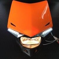 Motorcycle Streetfighter LED Headlight For KTM SX EXC XCF SXF GSX ZXR CBR CBF