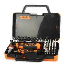 31 in 1 Multifunction Hand Tool Sets Electronics Repair Tools Set Kit Multi Bits Ratchet Screwdriver Set for LaptopTablet Repair