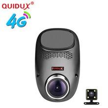 QUIDUX E01 4G dashcam Android GPS ADAS dash camera dual lens camara automovil Night Vision auto camera mini hidden car dvr wifi
