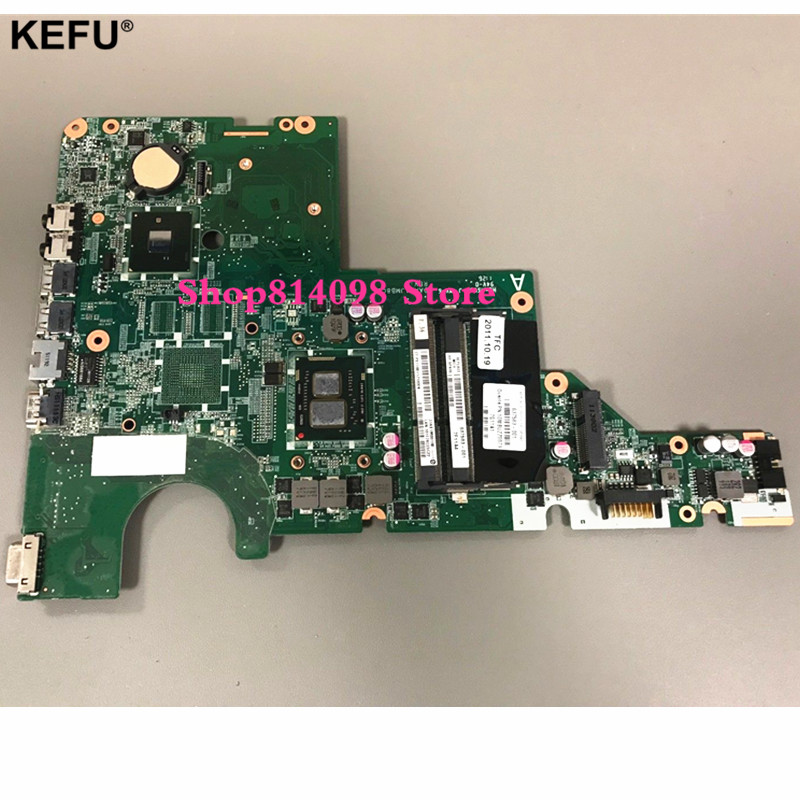 Classy Quality Laptop Motherboard For HP CQ42 G42 G62 CQ62 Motherboard 637583-001 i3-370M Chipset HM55 DDR3 Fully Tested laptop motherboard g62 cq62 592809 001 31ax2mb0010 da0ax2mb6f0 integrated 100% work promise quality fast ship