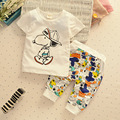 Baby Boys Clothes Summer  Clothing Cotton Shirts + Pants Infant Clothing Sets Baby Clothes