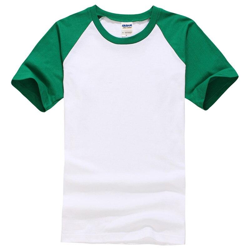 Мужская хлопковая футболка с коротким рукавом и принтом без капюшона, повседневные футболки из плотной ткани, модные однотонные топы унисе...