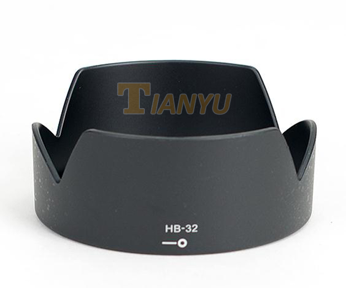 Free shipping+Tracking Number bayonet Lens Hood HB-32 HB 32 for Nikon D7100 D90 D7000 18-105 18-135 18-140 Frosted Surface 5