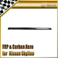 EPR Car Styling For Nissan Skyline R34 GTR Carbon Fiber OEM Spoiler Rear Small Blade For