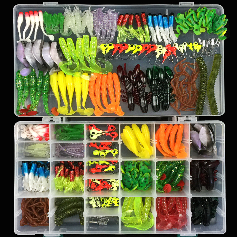 316pcs/lot fishing lures soft baits iscas artificiais para pesca silicone bait jig-head fishing hook stainless steel frog lure 1pcs 12cm 11 5g fishing lure bass bait minnow lures 6 hook iscas artificiais para pesca crankbait fishing tackle zb34