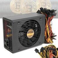 High Efficiency 1800W Modular BTC Eth Miners Power Supply Computer Mining Power Supply SATA Port 24P