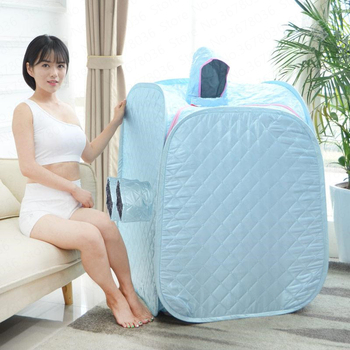Steaming Box Family Steam Sauna Room Home Box Folding Machine Sweating Pedicure Plegable Foot Spa Bath Heated Travel Inflatable