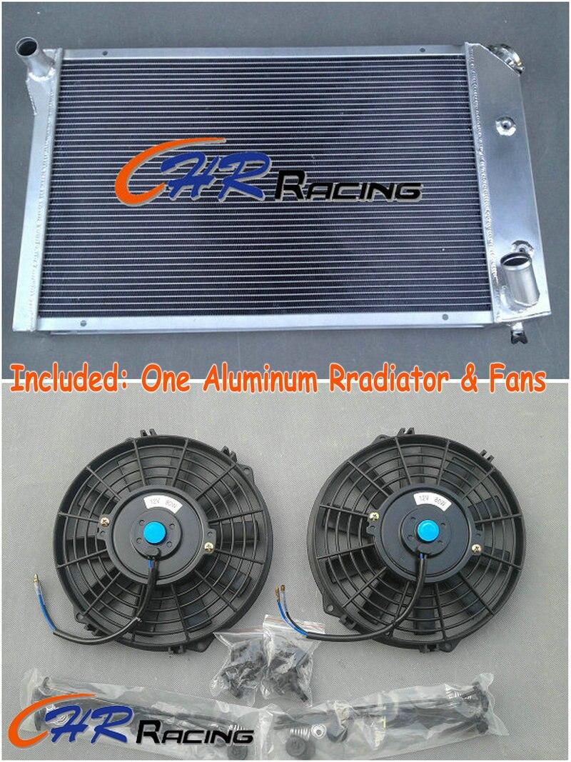 3 CORE ALUMINUM RADIATOR FOR 1977-1982 CHEVY CORVETTE 77 78 79 80 81 82 2* FAN