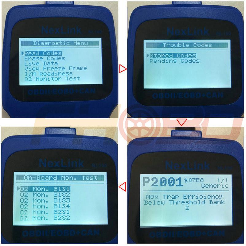NL100 OBD2 Scanner function_1