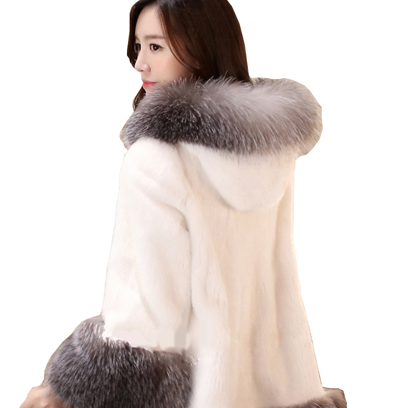Popular Long White Faux Fur Coat-Buy Cheap Long White Faux Fur