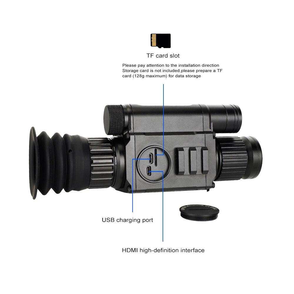 Lunette de chasse jour et nuit PARD NV008 lunette de Vision nocturne numérique caméra monoculaire IR avec pointeur Laser pour l'extérieur - 4