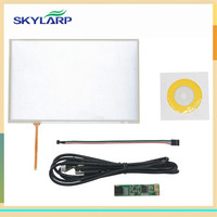 New 10 1 4 Wire Resistive Touch Panel USB Controller Kit For B101EVN07 0 LED Screen