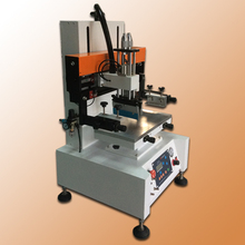automatic small flat tabletop screen printing machine with max printing area: 200x 300mm