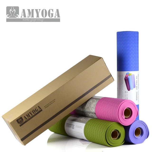 Aliexpress Com Buy Eco Friendly Anti Slip Tpe Yoga Mat