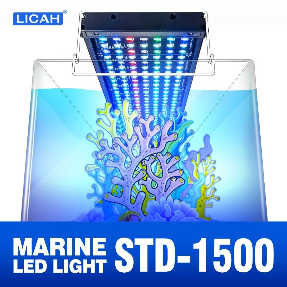 LICAH морской аквариум светодиодный свет STD-1500 Бесплатная доставка
