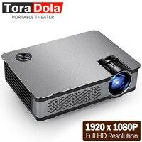 Светодиодный проектор TORA DOLA Full HD светодио дный 1920*1080 P, 3800 люмен, AKEY5, Android проектор, WI FI, Bluetooth. Дополнительно AKEY5 одноцветное