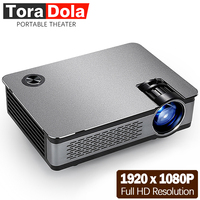 TORA DOLA полный светодиодный hd проектор. 1920*1080 P, 3800 люмен, AKEY5 UP, проектор для android устройств, wifi, Bluetooth. Дополнительный AKEY5 Базовый