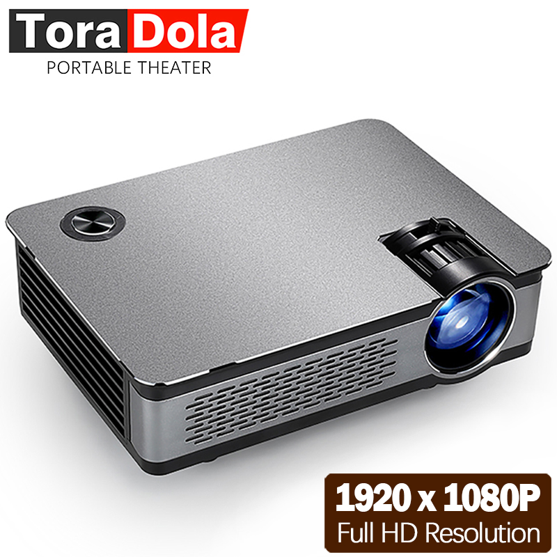 TORA DOLA Full HD LED Projecteur. 1920*1080 p, 3,800 Lumens, AKEY5 UP, Android Projecteur, WIFI, Bluetooth. Facultatif AKEY5 De Base