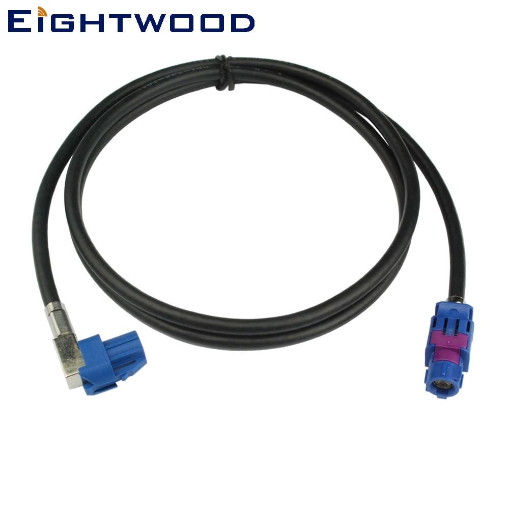 Eightwood New Vehicle Szybka skrzynia biegów FAKRA HSD C Signal Blue LVDS 120cm Ekranowany 4-rdzeniowy kabel Dacar 535