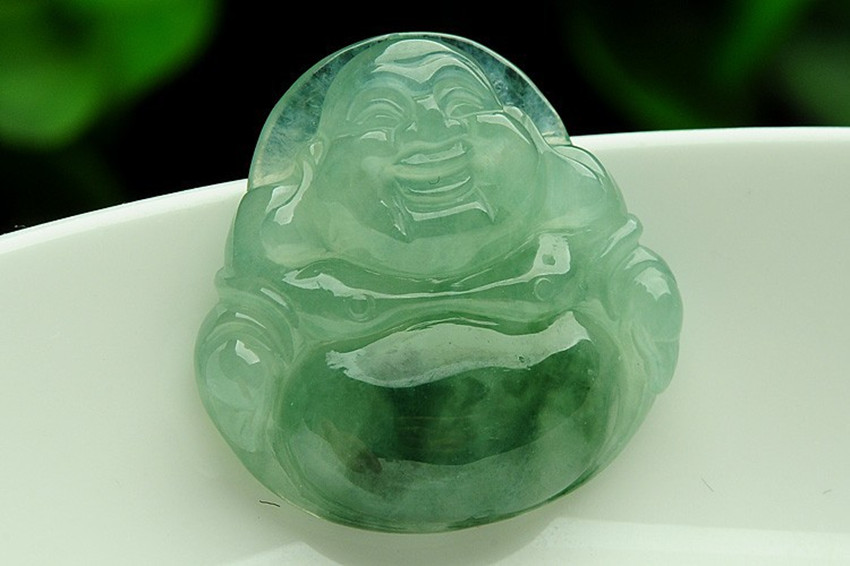 Real ice wax type floating flower YU shi laughing Buddha pendant myanmar YU gua oil Buddha YU lok lok YU pendant/1 туфли sha yu zi 2015 ol 34