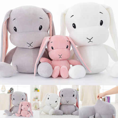 Leuke Bunny Zachte Pluche Speelgoed Konijn Gevulde Baby Kids Gift Dieren Pop 30 cm