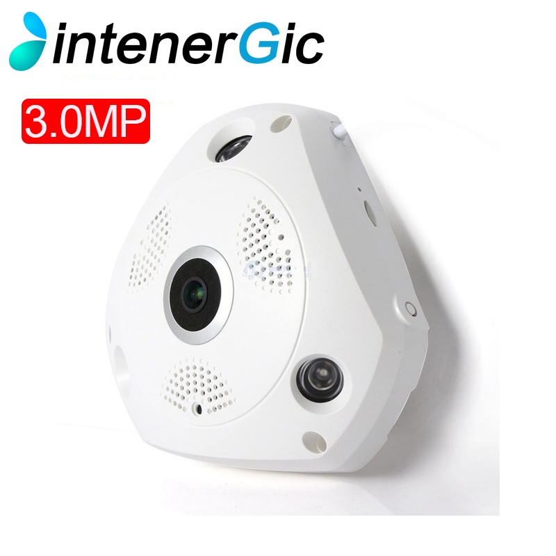HD WiFi Panoramic IP Camera 3MP 360 Degree Fisheye Network CCTV Security Kamera Video Storage Remote IR-CUT Two Way Audio home ip wifi camera hd 5mp two way audio activity alert yunsye smart ip wifi webcam 360 degree panoramic camera ir cut