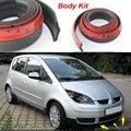 Car Bumper Lip para Mitsubishi Colt / fazer carro parte inferior do corpo Kit / dianteira / traseira saia Spoiler / Bumper defletor tira de borracha