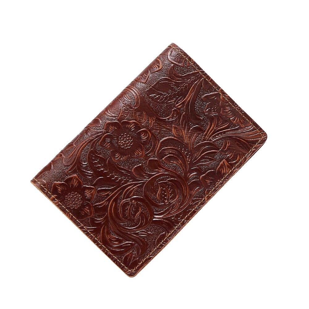 K018-Women Passport Cover Purse-Brown-05(9)088