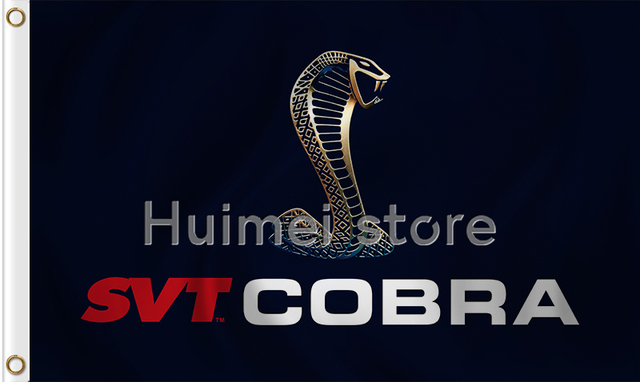 Cobra Vlag Zwart Cobra Cars Banner 3x5 Vlaggen Voor Auto Racing