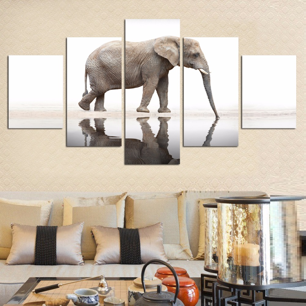 Aliexpress.com : Buy Selling Modern Print Canvas Painting Elephant ...