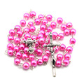 catholic  rosary  necklace,glass  beads rosary,rosary catholic