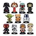 2016 nova Genuine pop funko Star Wars Darth Vader Yoda Luke R2D2 figuras de ação modelo boneca decoração do carro