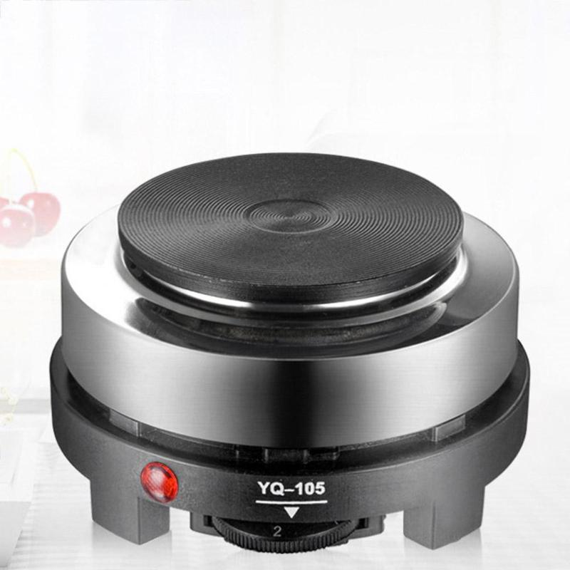 500W Electric Heater Stove Mini Hot Plate Cooker Electrothermal Coffee Milk Heating Furnace Multifunctional Kitchen Appliance цена
